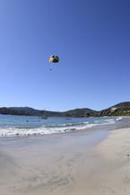 parasailing from laropa