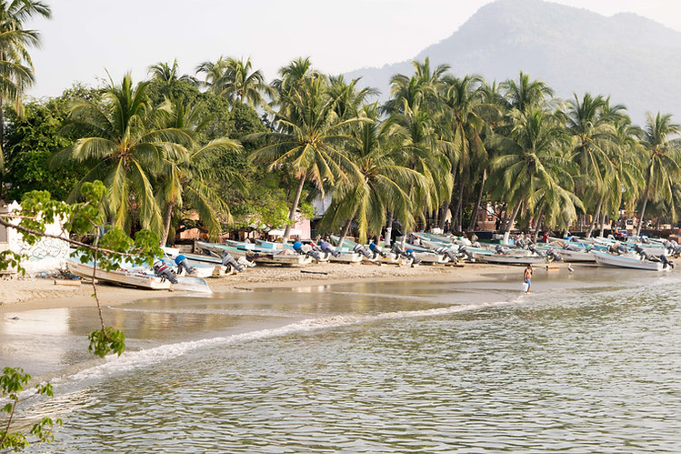 La Playa Principal Zihuatanejo Mexico