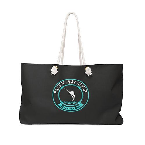 Black StayPV Big Logo Weekender Bag