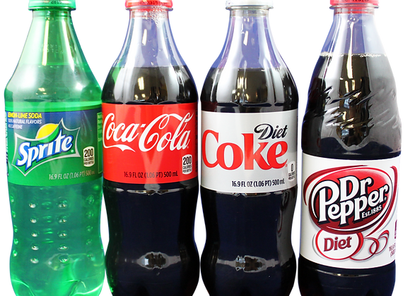 Soda Single Bottle 16 oz