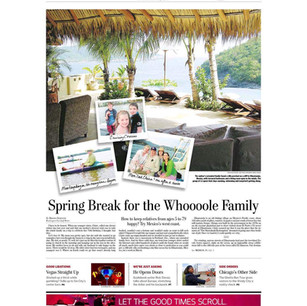 Spring Break for the Whoooole Family
