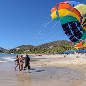 Flying High Over Zihuatanejo Bay