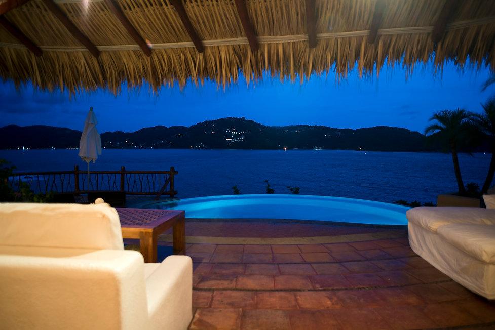 pool villa bahia zihuatanejo mexico