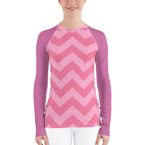 Pink Zags Sunlovers Swim Shirt