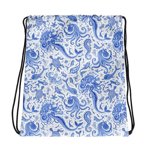 Mermaids La Ropa Drawstring Bag