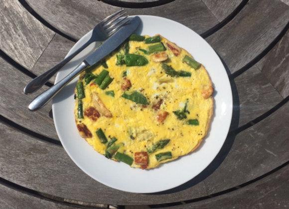 Omelette Bar Meal