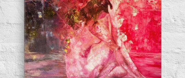 Al Despertar Reproduction on Canvas