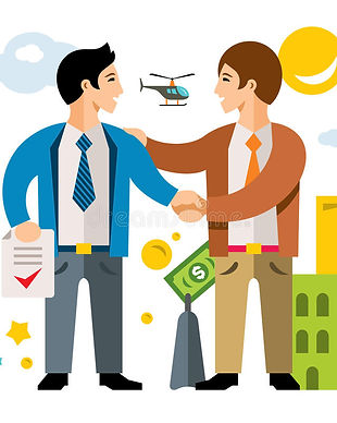 trato-del-vector-sociedad-acuerdo-negoci