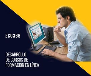 Desarrollo de cursos de formación en línea