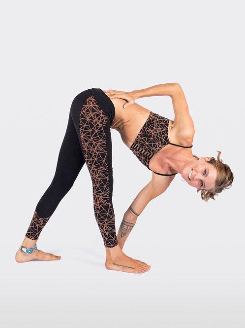 Organic Cotton Yoga Set - Legging & Top