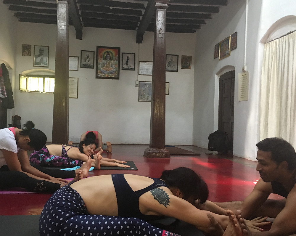 Ashtanga Yoga Mysore India