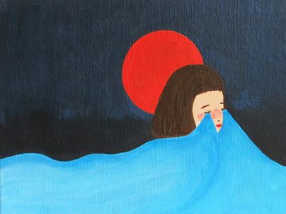 namida series no.09122016 涙が心の中で泣いています