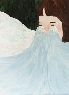 namida series no.03122016 涙が心の中で泣いています