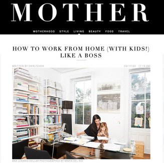 How To Work From Home (With Kids!) Like A Boss