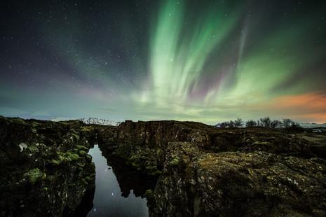 Þingvellir Auroras