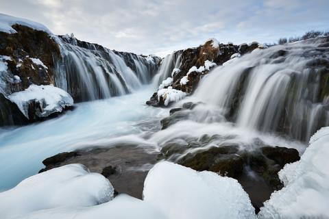 Brúarfoss in winter