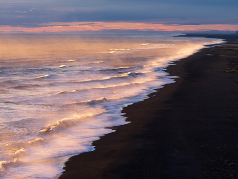 South Coast at sunset