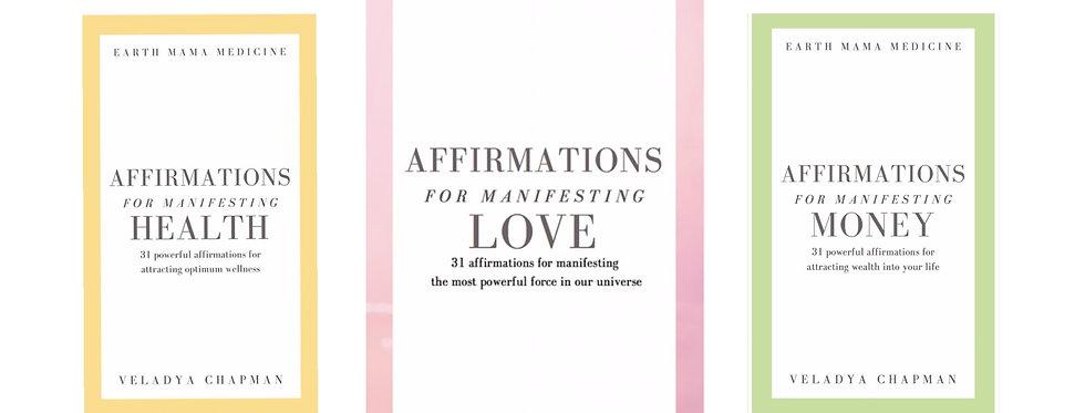 Affirmations for Manifesting Ebook Bundle