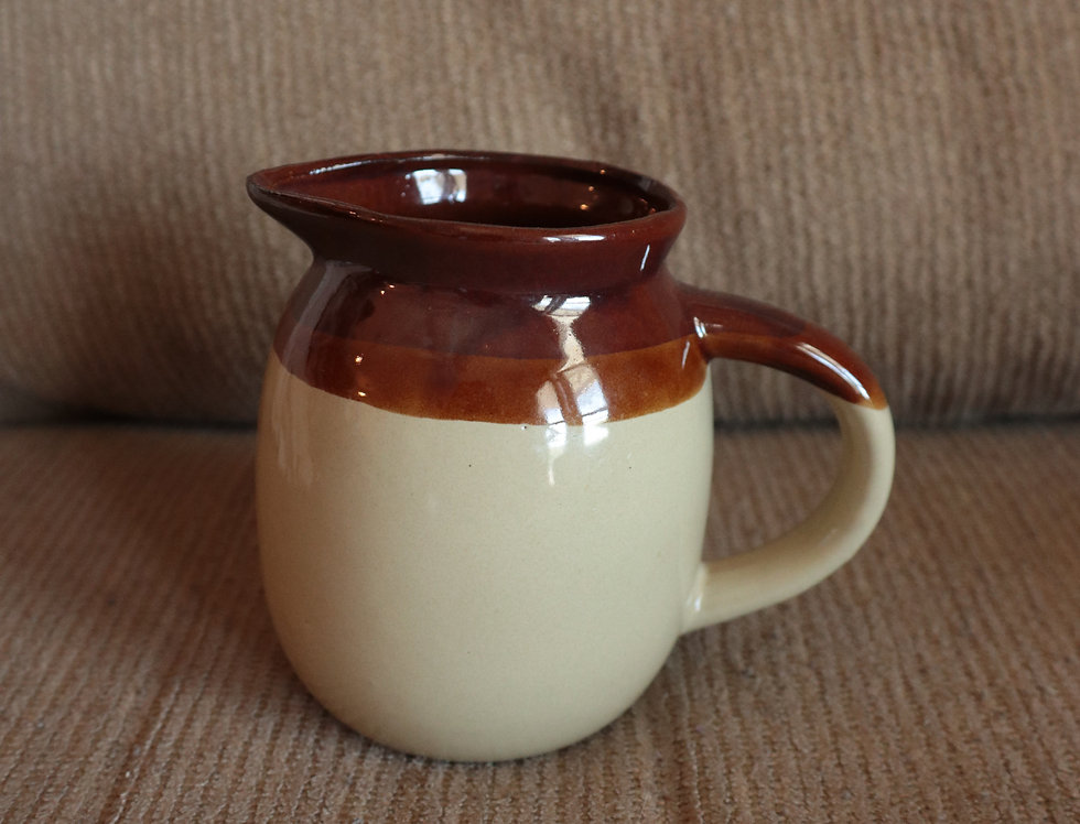 Two-Tone Creamer Pitcher