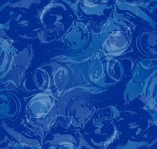 Blauwe abstractie