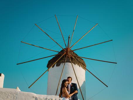 Max & Margarita (Wedding in Mykonos Island)