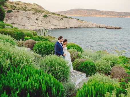 Wedding in Greece of (Melya and Gilles)