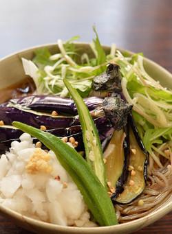 揚げ茄子おろし蕎麦(ランチ)