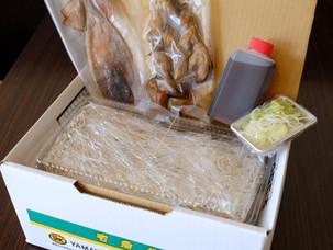 お蕎麦やおつまみのご自宅用お持ち帰りを用意しました!