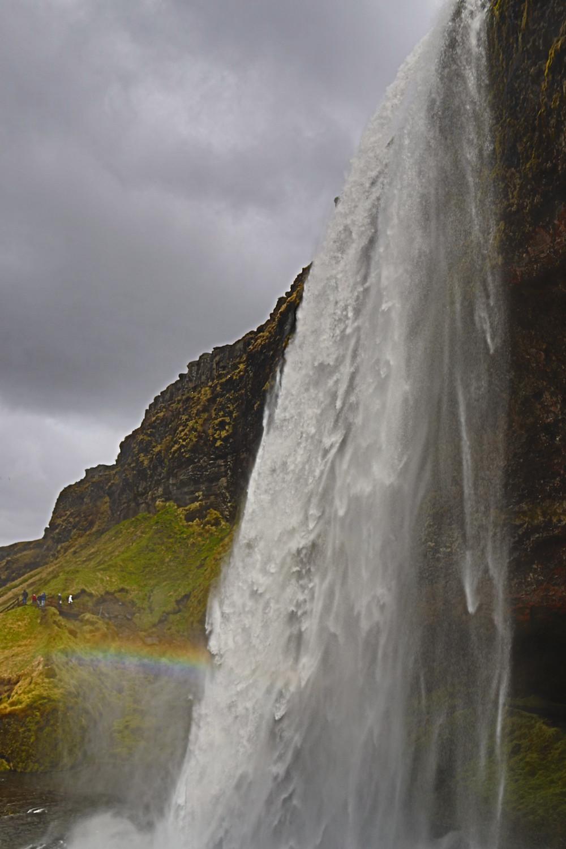 Seljalandfoss Rainbow