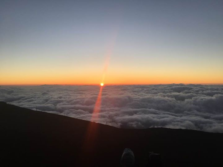Sunset from 10,023 ft