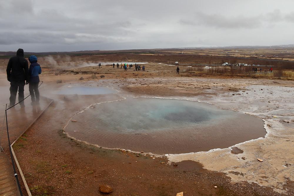Hot Springs at Geysir