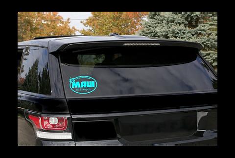 MAUI HI, I like you Car Window Decal
