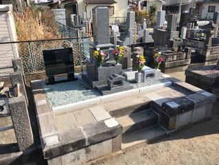 墓地のリフォーム   小田原市 H様
