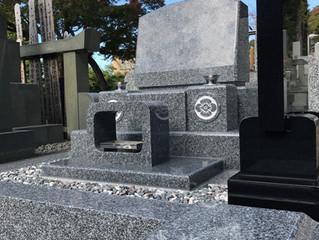 大井町 S 様 石種:天山みかげ(佐賀県産)