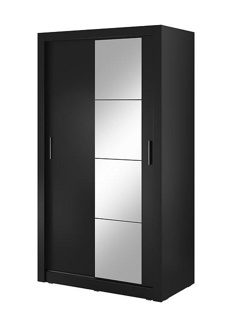 Denmark 2 Door Sliding Wardrobe Black