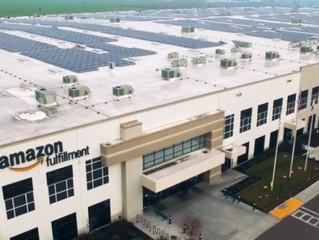 Amazon 50 Yerleşkesinde Temiz Enerji Kullanımına Geçiyor