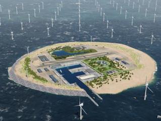 Danimarka, Almanya ve Hollanda yapay enerji adası oluşturacak