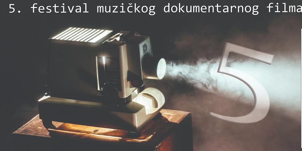 Svečano otvaranje petog izdanja festivala muzičkog dokumentarnog filma Dok'n'Ritam