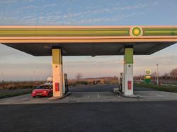 Petrol station france