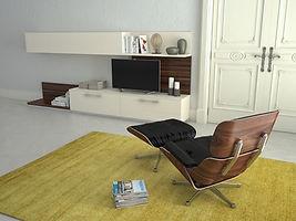 divan de psychologue dans un cabinet