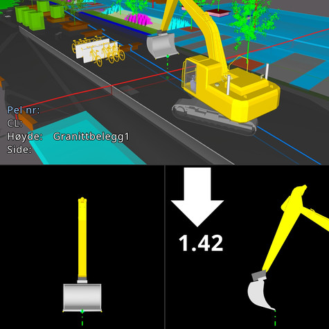 Makin' 3D is an advanced machine control platform, which has unique 3D visualization of entire road construction projects, live data sharing between machines, surveyors, office - and it is just as easy to use as your smartphone.