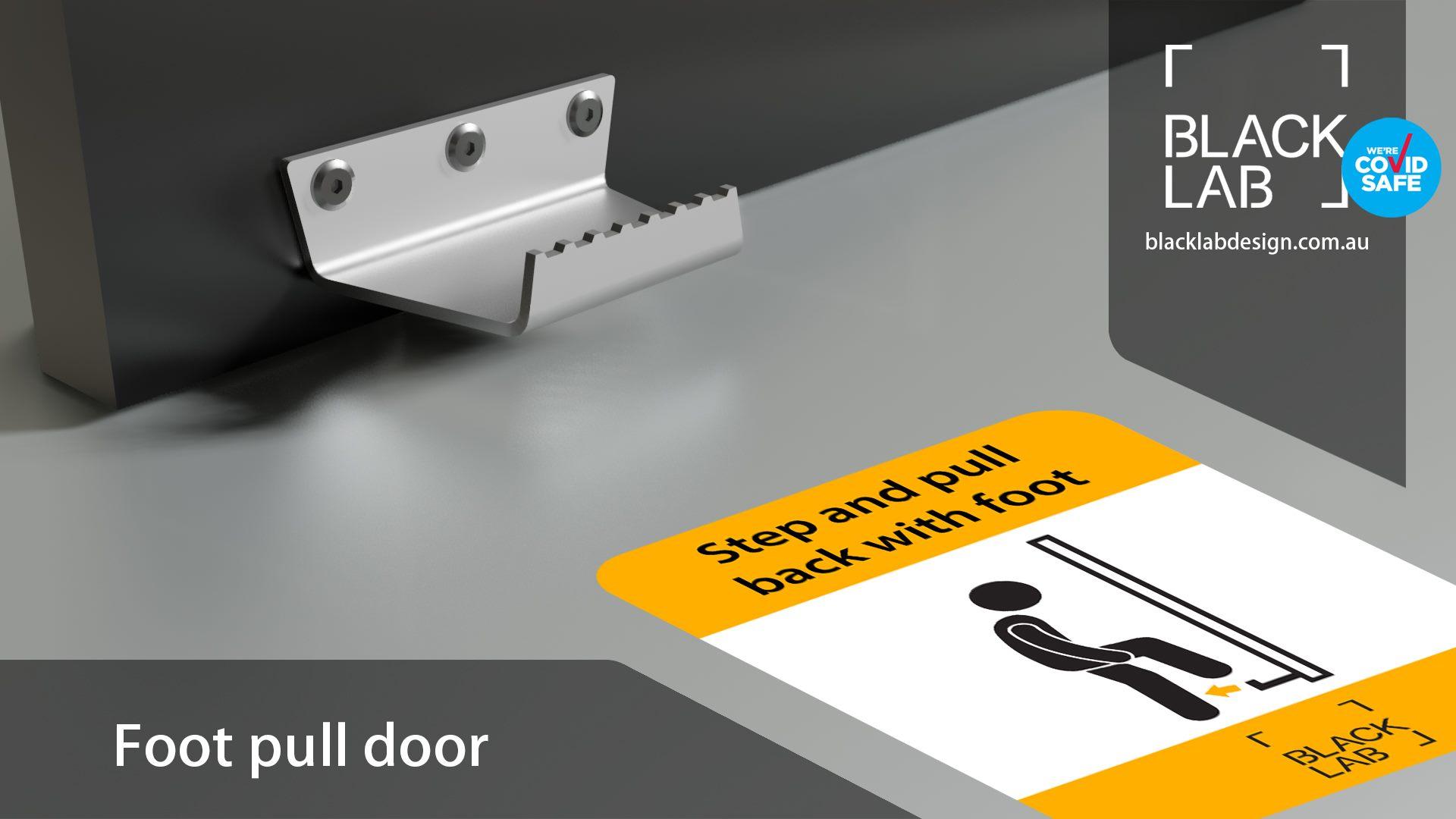 Foot Door Pull