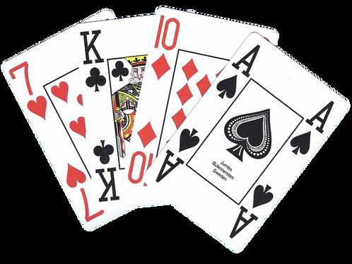 100% Plastic cards JUMBO