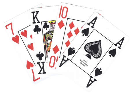 Plastic playing card JUMBO