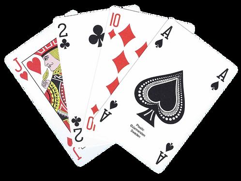 100% Plastic cards