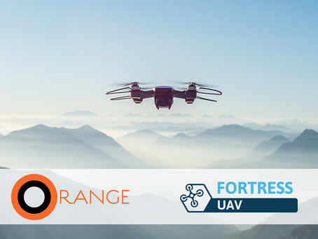 Fortress UAV & ORANGE Team to Deliver World Class Drone Safety & Deployment Services