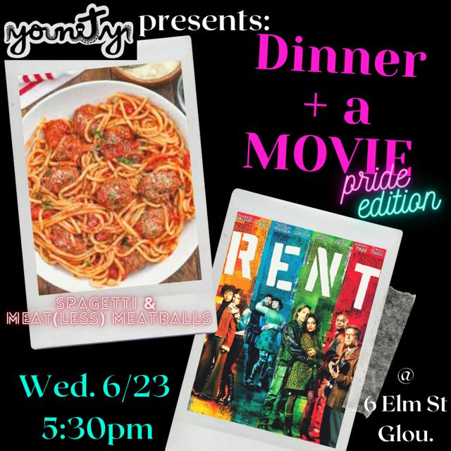 Dinner & A Movie: Pride Edition