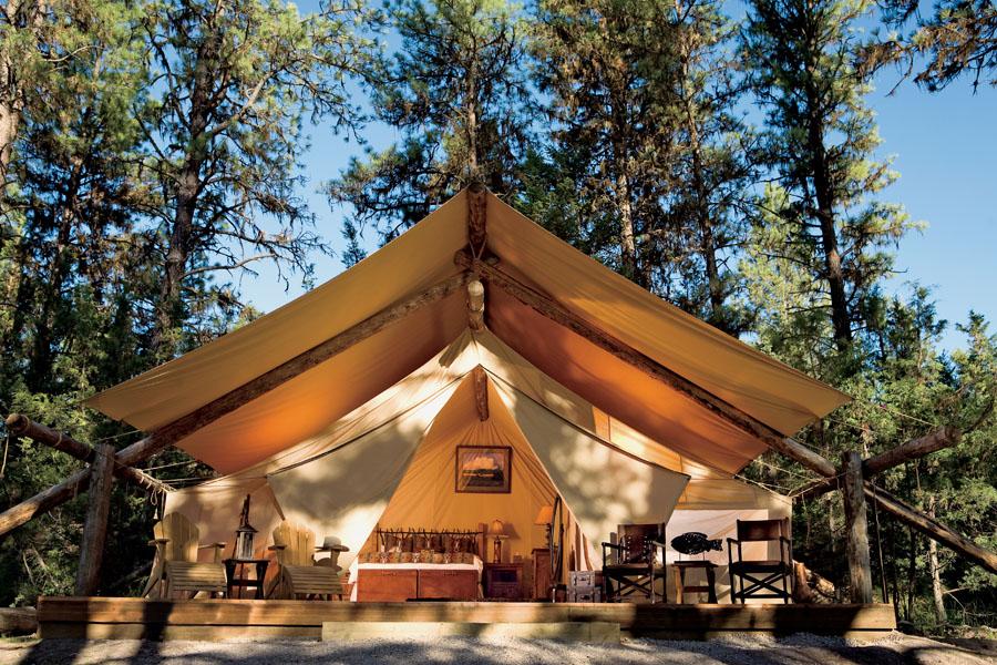 Søby_river-camp-tent