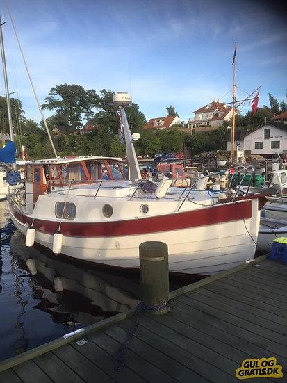 Tur båd - udlejes med kaptajn