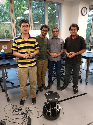Winners of the AMR competition